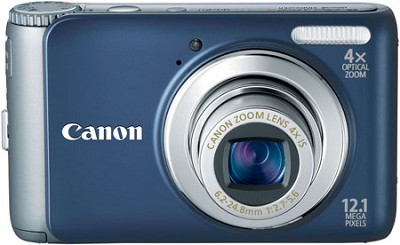 PowerShot A3100IS 12MP Digital Camera (Blue) Refurbished