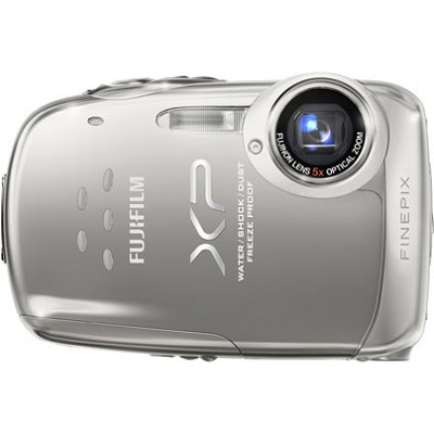 FINEPIX XP10 12 MP Digital Camera (Silver)
