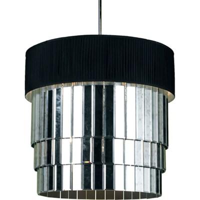 Garbo 6-Light Pendant Black Shade - 6740-6H