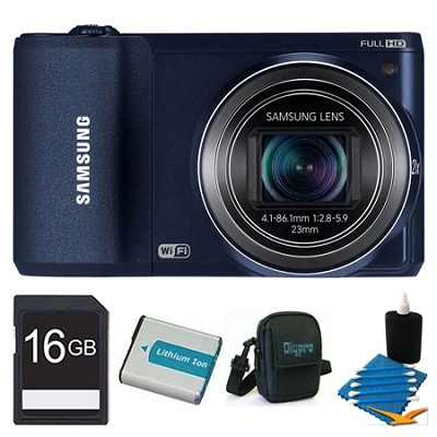 WB800F 16.3 MP Smart Camera with Built-in Wi-Fi Black 16GB Kit