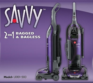 Savvy Bagless Upright Vacuum Cleaner