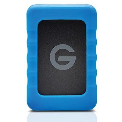 G-DRIVE ev RaW 500GB External Hard Drive with Rugged Bumper (0G04105)