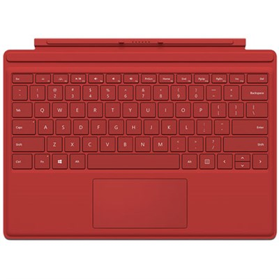 Surface Pro 4 Type Cover (Red)