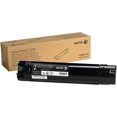 Black High Capacity Toner Cartridge for Phaser 6700 - 106R01510