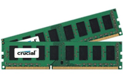 4GB kit (2GBx2), 240-pin DIMM, DDR3 PC3-10600, NON-ECC,