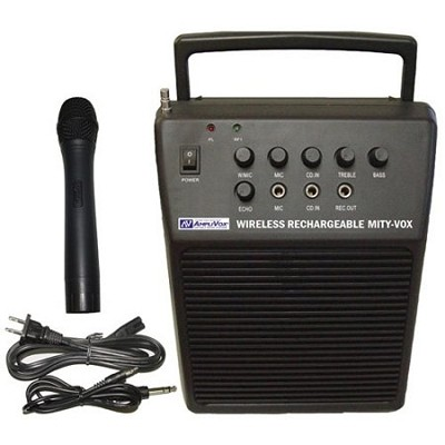Wireless Rechargeable Mity-vox Pa - OPEN BOX