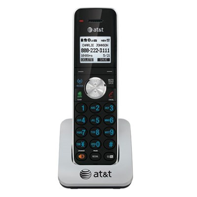 TL90071 DECT 6.0 Cordless Phone, Black/Silver, 1 Handset - OPEN BOX