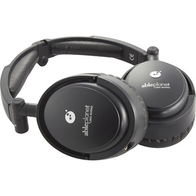 Musicians Choice Foldable Active Noise Canceling Headphones - OPEN BOX
