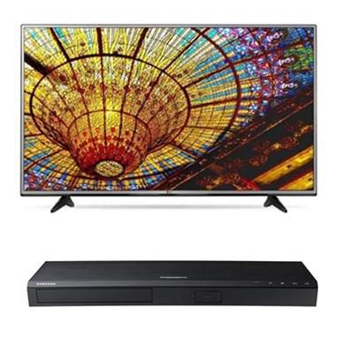 55UH6030 - 55` 4K Ultra HD Smart TV + Samsung UBD-K8500 3D 4K Blu Ray Player