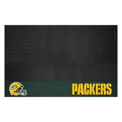 NFL Green Bay Packers Vinyl Heavy Duty Grill Mat