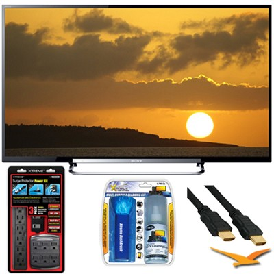 60-Inch LED 240Hz Internet HDTV (KDL-60R520A) Hookup Bundle