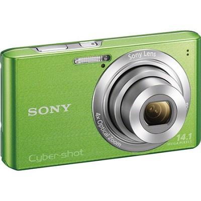 Cyber-Shot DSC-W610 Green 14.1 MP Compact Digital Camera - OPEN BOX