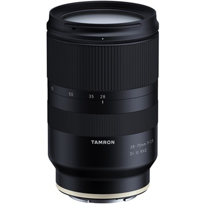 28-75mm F/2.8 Di III RXD Full Frame E-mount Lens (Model A036) for Sony Mirrorles