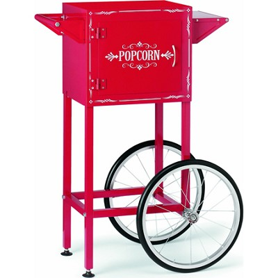 Popcorn Maker Trolley, Red
