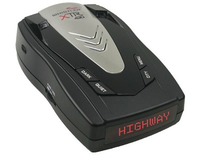 XTR-430 Radar/Laser Detector with Red Text Display