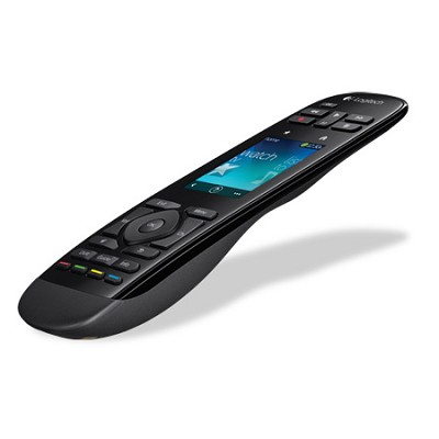 Harmony Touch Universal Remote with Color Touchscreen - Black