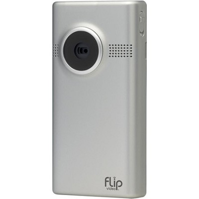 MinoHD Video Camera - 1 Hour  (4GB) Silver