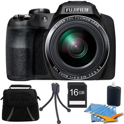 FinePix SL1000 16 MP Full HD 1080/60i Movie Digital Camera 16GB Kit