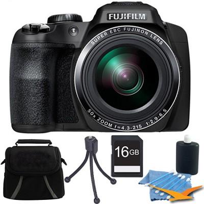 FinePix SL1000 16 MP Full HD 1080/60i Movie Digital Camera 16GB Kit