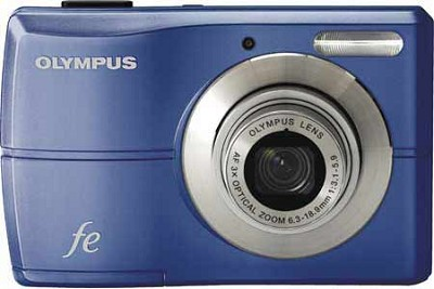 FE-26 12MP Digital Camera w/ 3x Optical Zoom, 2.5 inch LCD (Blue)
