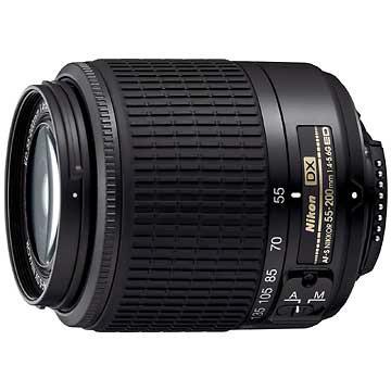 55-200mm F/4-5.6G ED AF-S DX Zoom-Nikkor Lens, With Nikon 5-Year USA Warranty