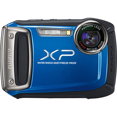 Finepix XP100 14MP Water/Shock/Freeze/Dust-Proof Digital Camera (Blue)