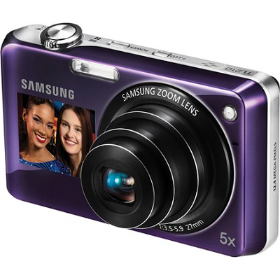 TL210 DualView 12MP Violet Digital Camera