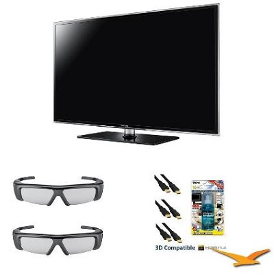 UN46D6400 46 inch 120hz 1080p 3D LED HDTV 3D Kit