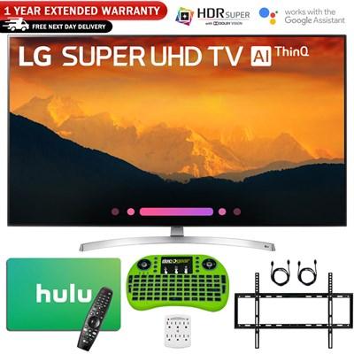 65 Super UHD 4K AI Smart TV w/ Nano Cell + $125 Hulu Gift Card Bundle