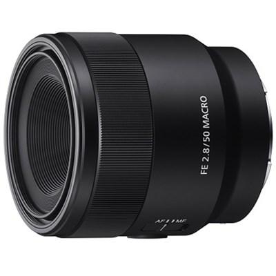 SEL50M28 FE 50mm F2.8 Full Frame E-Mount Macro Lens Kit 2