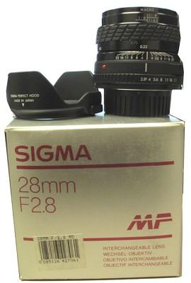 28mm f/2.8 Canon MF - OPEN BOX