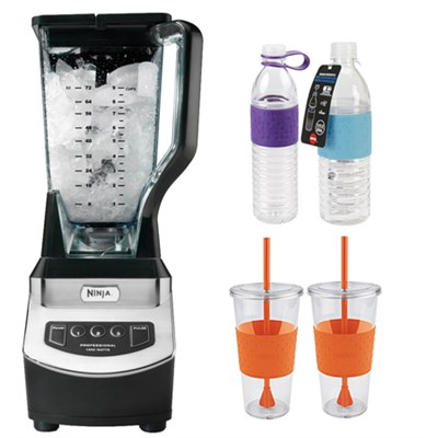 BL610 Professional Table Top 1000watt Blender-Gray w/ Copco Hydra Bottles Bundle