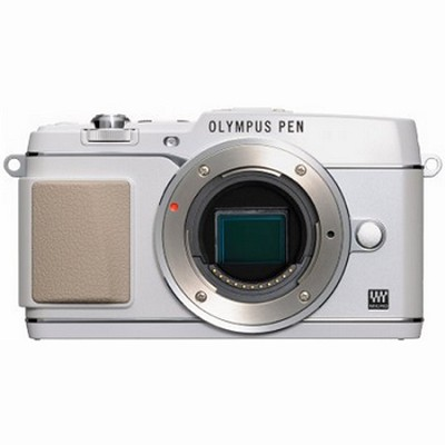 PEN E-P5 16MP Compact System Camera (White)(Body Only)
