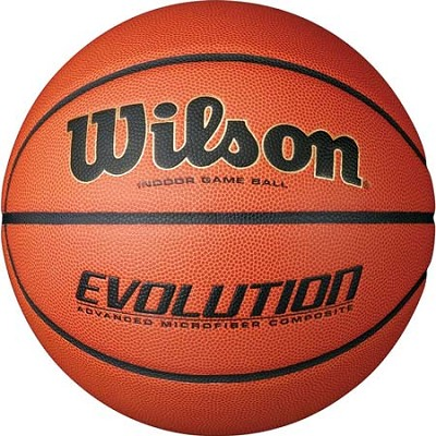 Evolution Game Ball Basketball Official 29.5`