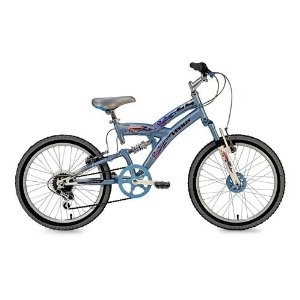 20` Kent Rock Candy 7 Speed,  Dual Suspension, QR Seat