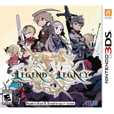 Legend of Legacy LE 3DS