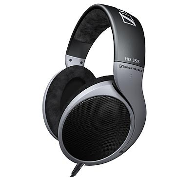HD 555 Open Aire Dynamic Stereo Headphones with E.A.R. Technology