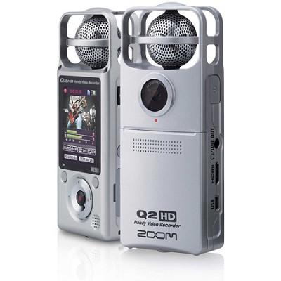 Q2HD Handy HD Video and Audio Recorder - Silver - OPEN BOX