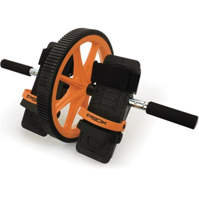 Hard Core AB Wheel with Foot Straps and Hand Grips - OPEN BOX