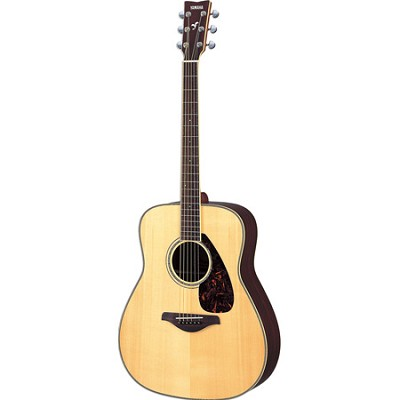 FG730S Acoustic Guitar - Natural Finish