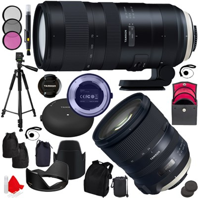 SP 70-200mm F/2.8 Di VC USD G2 + SP 24-70mm f/2.8 USD G2 Lens Nikon Mount Kit