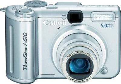 Powershot A610 Digital Camera