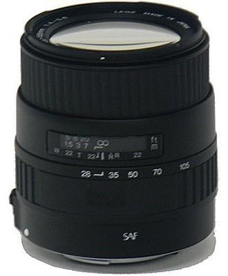 28-105mm f/4.0-5.6 UC Zoom Lens f/Sigma SA Autofocus - OPEN BOX