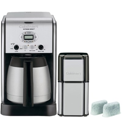 Extreme Brew 10-Cup Thermal Pro Refurb Coffeemaker w/ Refurbished Bundle