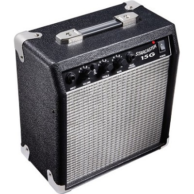 Starcaster 15 Watt Electric Guitar Amplifier 120V