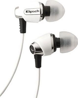IMAGE S4-WH In-Ear Enhanced Bass Noise-Isolating Headphone, White
