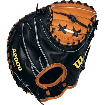 A2000 Pudge Catcher Mitt - Right Hand Throw - Size 32.5`