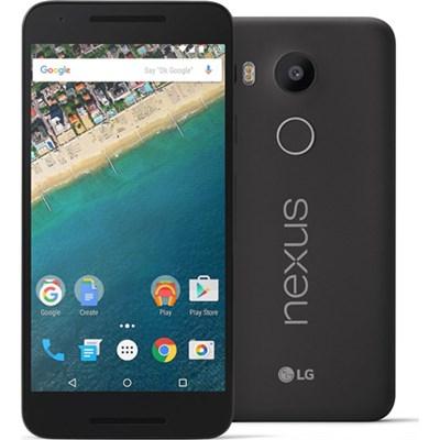 H790 Google Nexus 5X 16GB Unlocked Smartphone - Carbon Black - OPEN BOX
