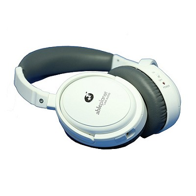 NC300W True Fidelity Around-the-Ear Active Noise Canceling Headphones (White)