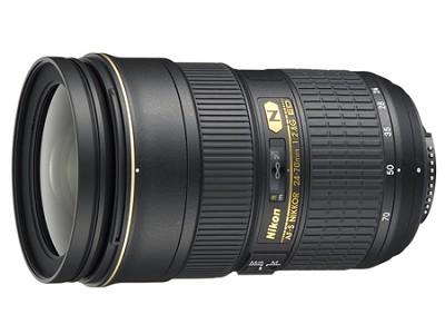 AF-S NIKKOR 24-70mm f/2.8G ED Lens - REFURBISHED